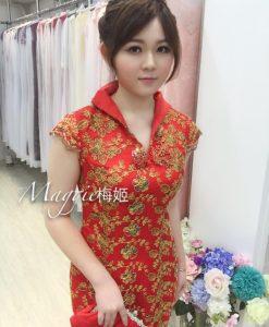 媽媽裝,復古,改良式,旗袍
