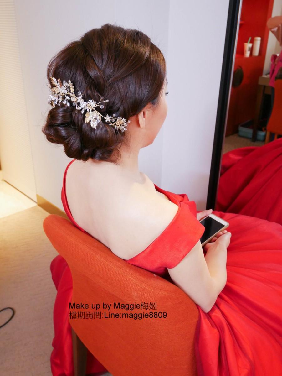 台北新秘,君悅酒店,訂結,雙儀式,禮服,法國巴黎婚紗