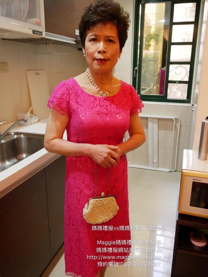 媽媽妝髮造型短髮媽媽1