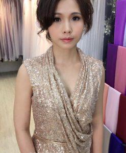 台北媽媽禮服,主婚人,妝髮造型