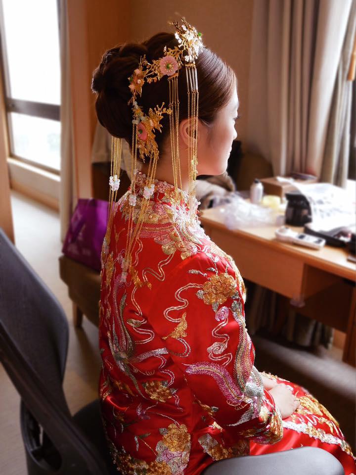 歌姬,前區瀏海,復古,指推波浪,中式裙掛,頭飾