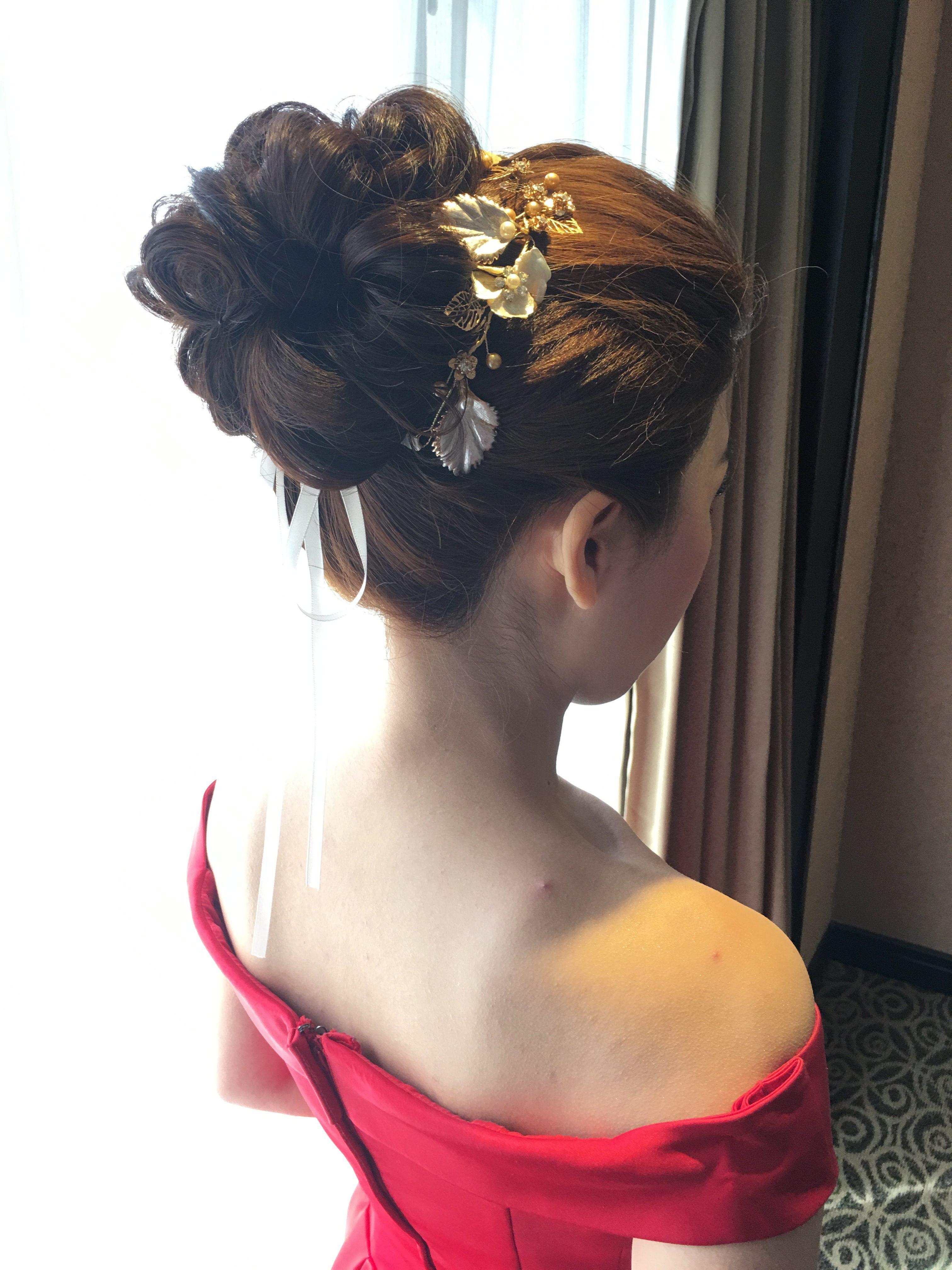 蘿亞禮服,清新造型,自然彩妝,