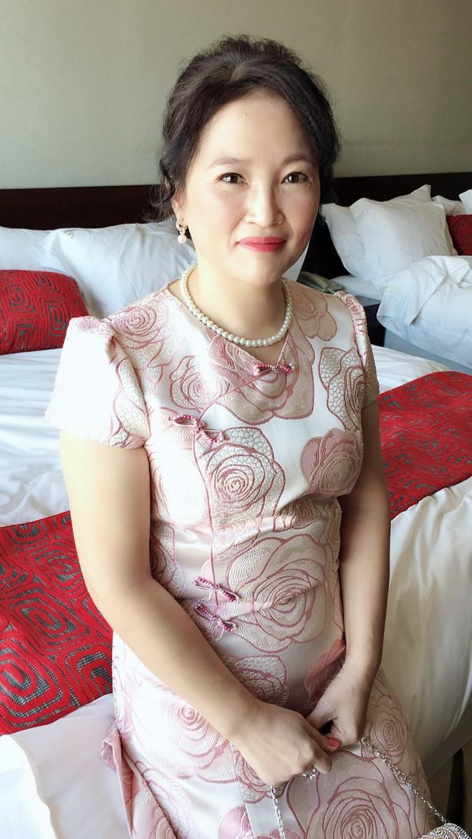 媽媽禮服造型作品 小芳 (3)