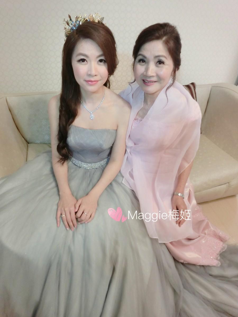 主婚人造型,媽媽晚禮服造型,媽媽造型,婆婆造,台北媽媽造型,台北新娘髮型,台北晚禮服造型,  婚禮造型