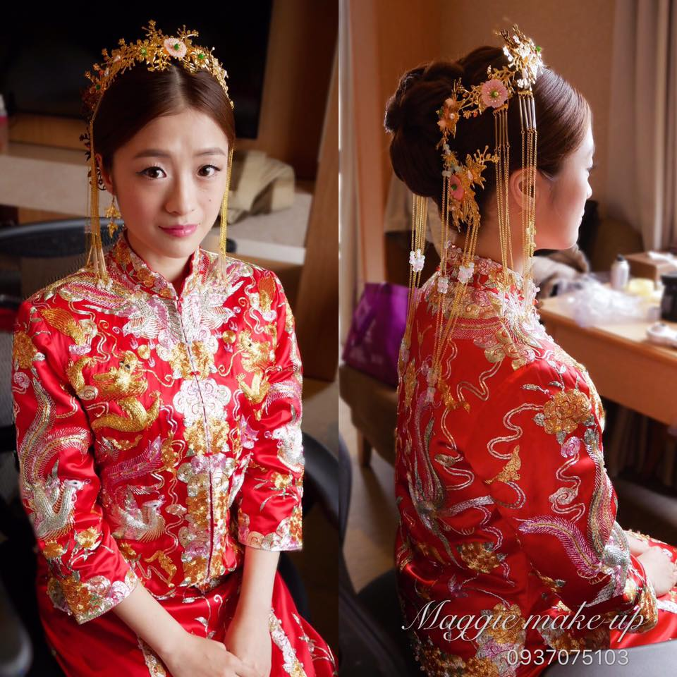 中式新娘造型
